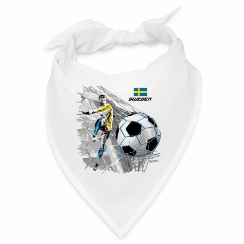 FP22F 16 SWEDEN FOOTBALL - Bandana