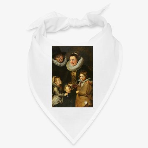 familie-engels2-canvas - Bandana