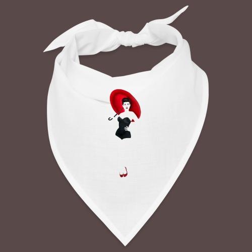 Pin up - Red Umbrella - Bandana