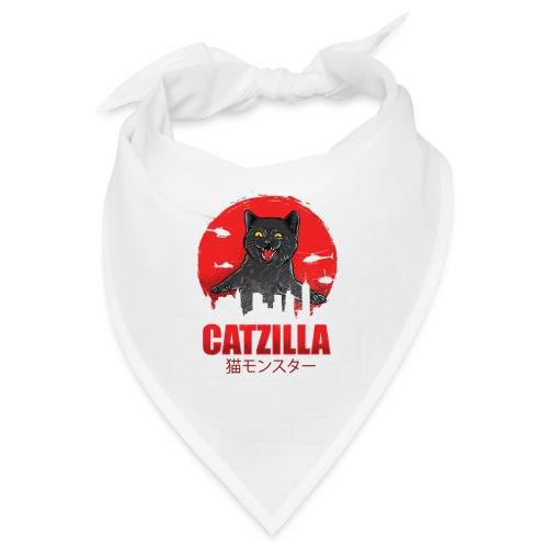 Catzilla Katzen Horror B-Movie Parodie - Bandana