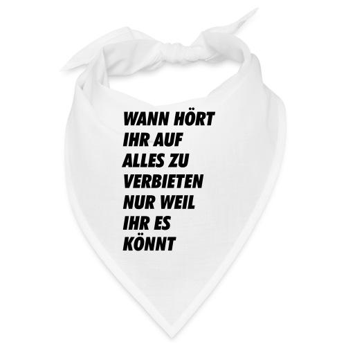 wanhoertihrauf - Bandana
