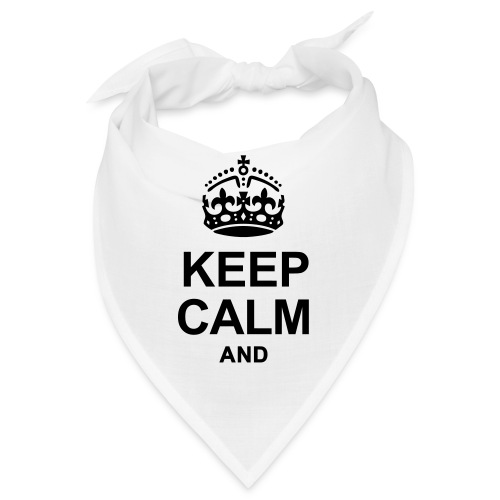 KEEP CALM - Bandana