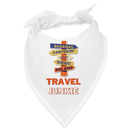 traveljunkie - i like to travel - Bandana