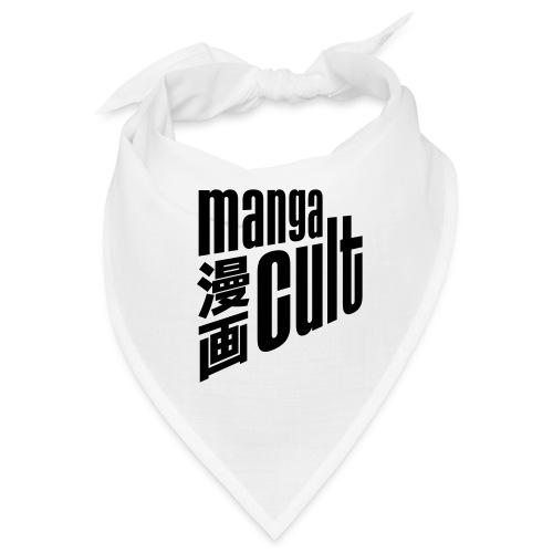 Manga Cult Logo Schwarz - Bandana