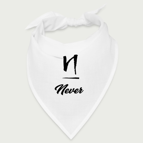 Never Design Version 2 - Bandana