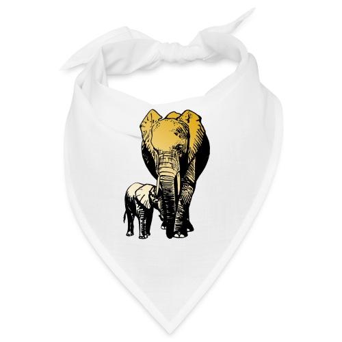 Elefanten - Mutterliebe - Bandana