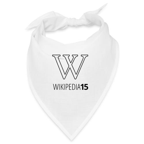 W, rak, vit - Snusnäsduk