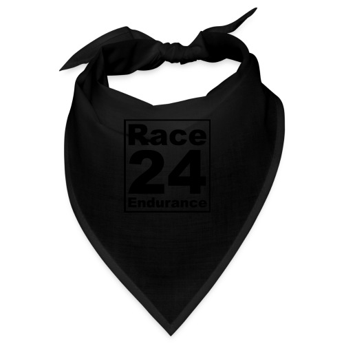 Race24 logo in black - Bandana