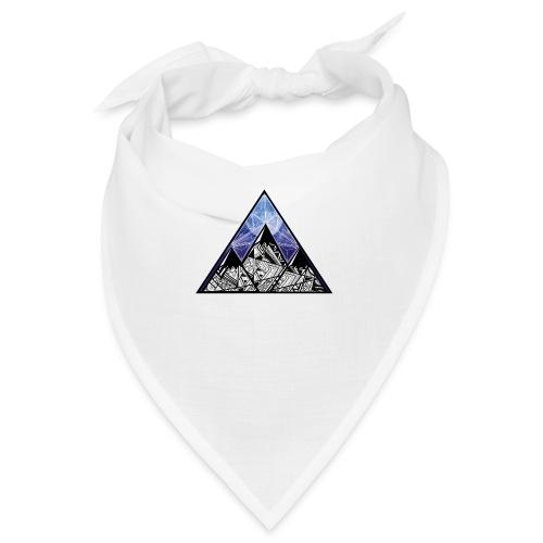Grime Apparel Mountain Range Graphic Shirt. - Bandana