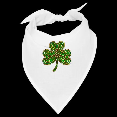 Celtic Knotwork Shamrock - Bandana