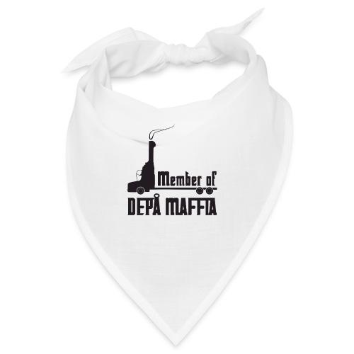 Depå Maffia svart tryck - Snusnäsduk