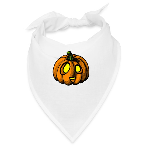 Pumpkin Halloween scribblesirii - Bandana