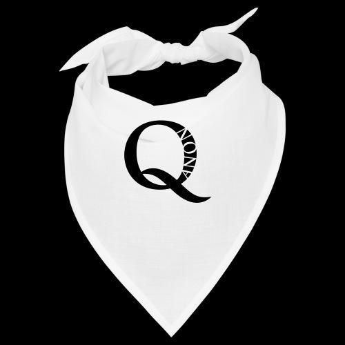 Q Anon Q-Anon Original Logo - Bandana