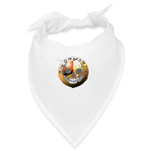 Rigormortiz Metallic Orange Design - Bandana