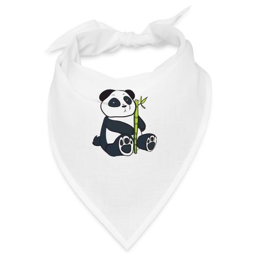 Oso Panda con Bamboo - Bandana