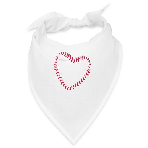 2581172 1029128891 Baseball Heart Of Seams - Bandana