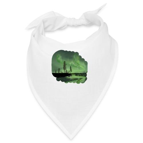 Réflexion des aurores boréales - Bandana