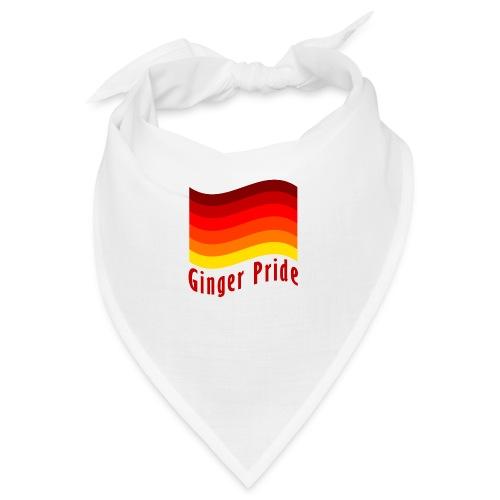 Ginger Pride flag Dark png - Bandana