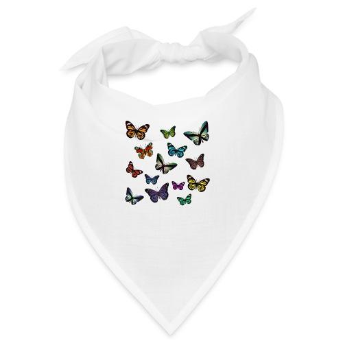 Butterflies flying - Snusnäsduk