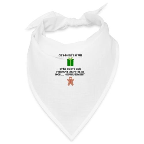 T-shirt cadeau de Noël - Bandana