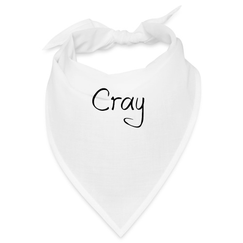 Cray Black Schrifft - Bandana