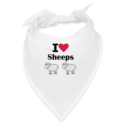 I-love-sheeps - Bandana