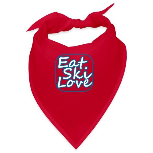 eat ski love - Bandana