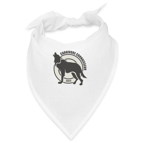 Fleischfresser - Grillshirt - Der mit dem Wolf heu - Bandana