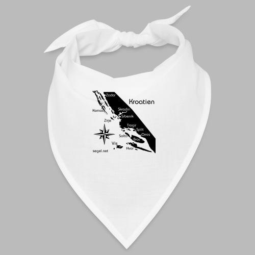 Crewshirt Urlaub Motiv Kroatien - Bandana