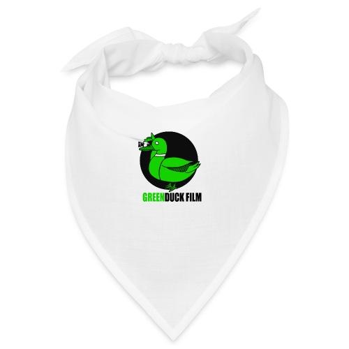 Greenduck Film Logo w. black letters - Bandana