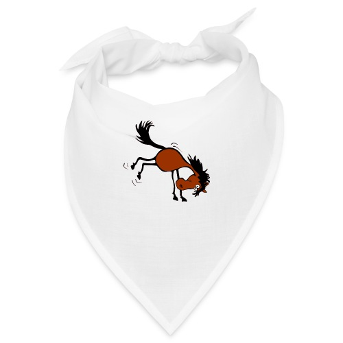 buckelndes Pferd - Bandana