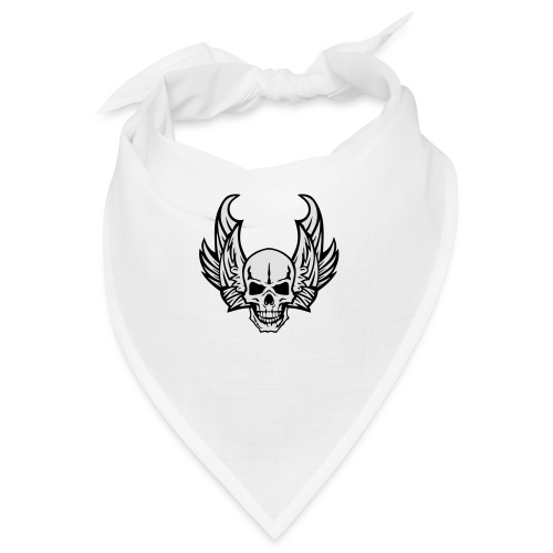 aile tete mort skull dead death wings - Bandana