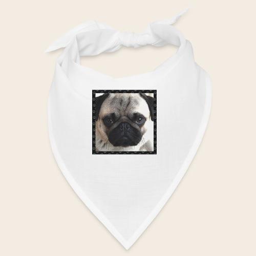 Mops Hund 2 - Bandana