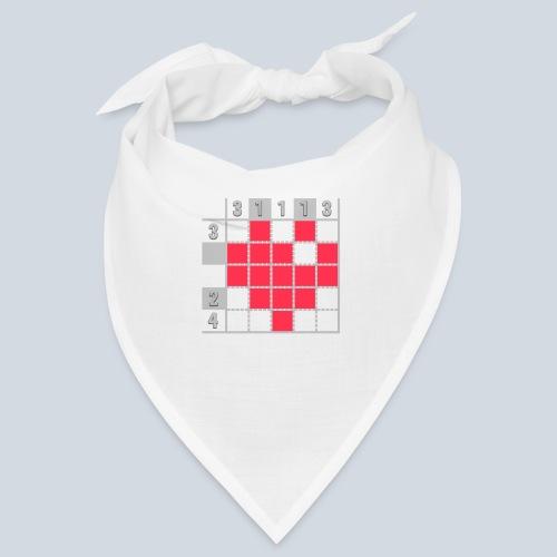 Heart Tshirt Women - Bandana