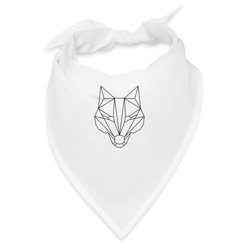 Wolf Blacklined - Bandana