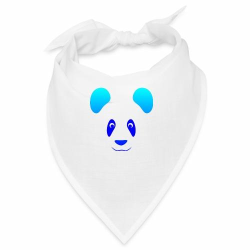 Happy Panda - Blue - Bandana