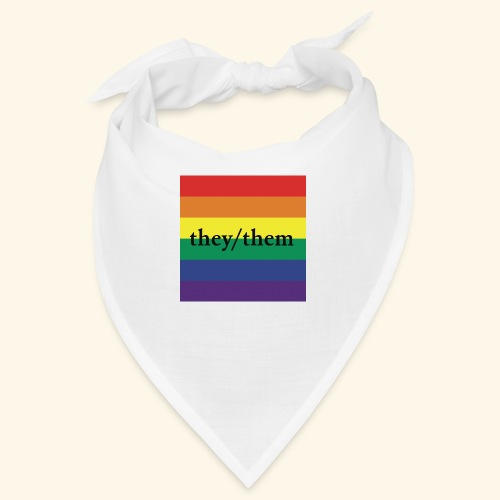 THEY THEM PRIDE FLAG - Bandana
