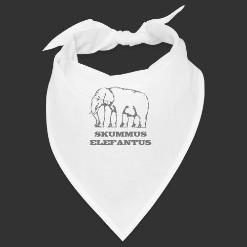 Skummus Elefantus - Snusnäsduk