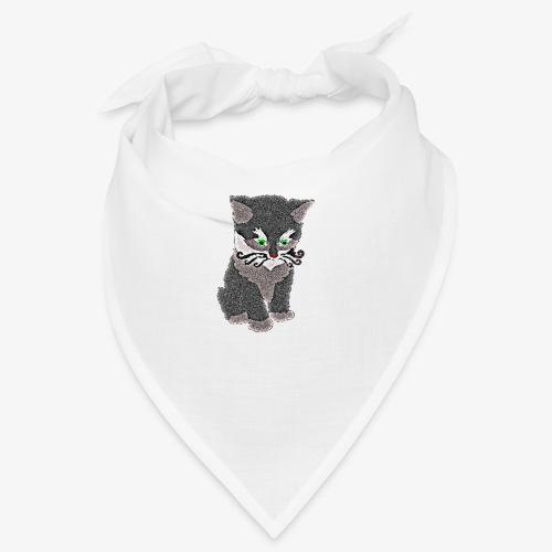 Kotek szary - Bandana