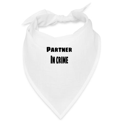 Partner in crime black - Snusnäsduk