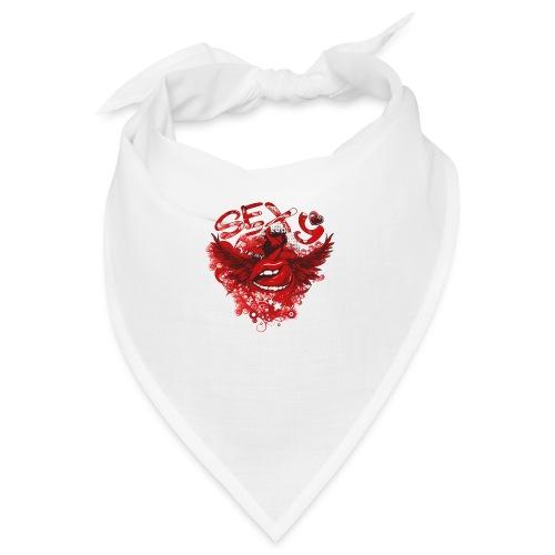 SEXY Lips heart Wings - Sexy Lippen Herz Flügel - Bandana