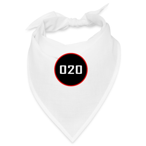 020 logo dunne rand - Bandana