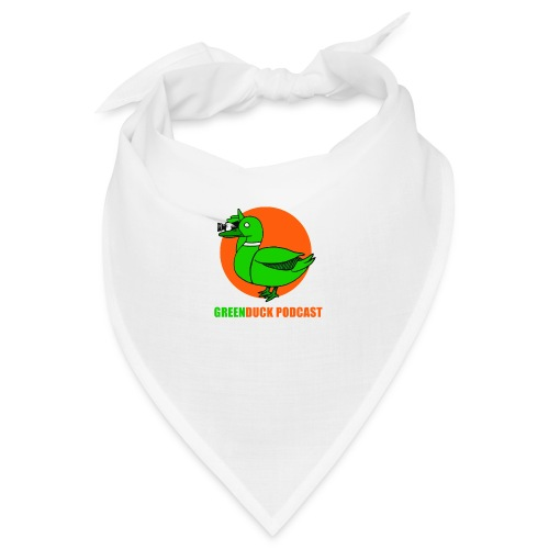 Greenduck Podcast Logo - Bandana