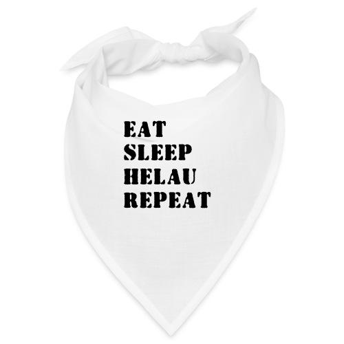 Eat Sleep Repeat - Helau VECTOR - Bandana