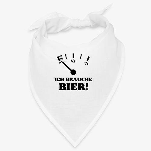 Bier Tankanzeige - Bandana