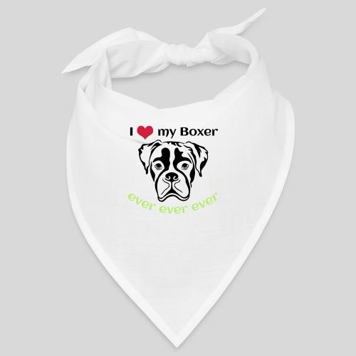 I-love-my-Boxer - Bandana