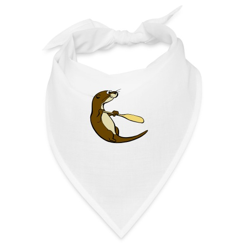 Classic Song of the Paddle otter logo - Bandana