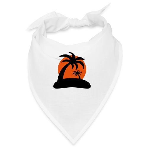 palm island sun - Bandana