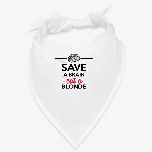 Gebildet - Save a Brain eat a Blond - Bandana