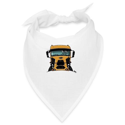 0812 F truck geel - Bandana